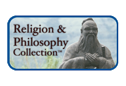 Religion and Philosophy Collection, powered by EBSCOhost, logo